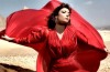 Asala Nasri new photo shoots for her campaign in a red elegant dress 1