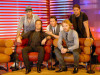 Stephen Gately with Mikey Graham Ronan Keating and Shane Lynch