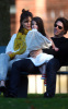 Tom Cruise and Katie Holmes with their daughter Suri at a park in Cambridge Massachusetts on October 10th 2009 3