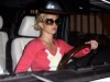 Britney Spears spotted in her car at a gas station in Beverly Hills on October 11th 2009 4