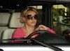 Britney Spears spotted in her car at a gas station in Beverly Hills on October 11th 2009 3