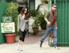Megan Fox and her boyfriend Brian Austin Green seen leaving Zachs Cafe in Studio City California on October 12th 2009 8
