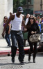Khloe Kardashian and Lamar Odom were spotted spending time together in Los Angeles on October 11th 2009 6