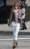 Alessandra Ambrosio spotted out in the West Willage of New York City on October 12th 2009 2
