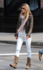 Alessandra Ambrosio spotted out in the West Willage of New York City on October 12th 2009 1