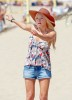 Sophie Monk spotted roller Skating at the Beach in Los Angeles on October 12th 2009 3