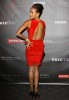 Dania Ramirez wearing a red dress as she attends the Fashion Group International of Los Angeles on October 12th 2009 2