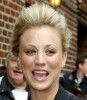 Kaley Cuoco picture as she arrives at the Late show with David Letterman studio in New York on October 12th 2009 5
