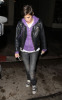 Samantha Ronson was spotted arriving at Dominicks Restaurant in West Hollywood on October 14th 2009 2