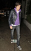 Samantha Ronson was spotted arriving at Dominicks Restaurant in West Hollywood on October 14th 2009 4