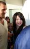 Selena Gomez arrives at Menchies Frozen Yogurt store in Sherman Oaks California on September 24th 2009 2