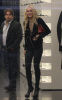 Lindsay Lohan was spotted shopping at Chanel boutique in New York City on October 14 1