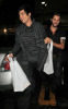 Adam Lambert and his boyfriend Drake LaBry spotted shopping at 7 Eleven store after attending the Star Magazine Party in Los Angeles on October 13th 2009 3
