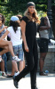Tyra Banks spotted on filming an episode for her Television show The Tyra Banks Show in New York on August 17th 2009 6