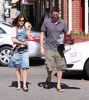 Alyson Hannigan and her husband Alexis Denisof out shopping with their daughter Satyana Denisof in Beverly Hills on October 17th 2009 8