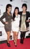 Kim Kardashian spotted at her Las Vegas birthday bash with Kourtney Kardashian and their mother Kris Jenner at the trendy Tao Nightclub on October 16th 2009 3