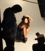 Fergie picture while photo shooting her first fragrance advertisement campaign in October 2009 1