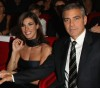 George Clooney and his girlfriend Elisabetta Canalis at the screening of his new movie Up in the Air held at the Auditorium Parco della Musica on October 17th at the Rome Film Festival in Italy 7