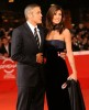 George Clooney and his girlfriend Elisabetta Canalis at the screening of his new movie Up in the Air held at the Auditorium Parco della Musica on October 17th at the Rome Film Festival in Italy 6