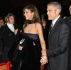 George Clooney and his girlfriend Elisabetta Canalis at the screening of his new movie Up in the Air held at the Auditorium Parco della Musica on October 17th at the Rome Film Festival in Italy 14