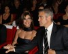 George Clooney and his girlfriend Elisabetta Canalis at the screening of his new movie Up in the Air held at the Auditorium Parco della Musica on October 17th at the Rome Film Festival in Italy 8