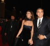 George Clooney and his girlfriend Elisabetta Canalis at the screening of his new movie Up in the Air held at the Auditorium Parco della Musica on October 17th at the Rome Film Festival in Italy 13