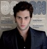 Penn Badgley photo from the shoot for the front cover of Da Man Magazines October November 2009 issue 6
