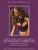 Alessandra Ambrosio photo shoot from Velvet the fragrance promotional for the release event in October 2009 2