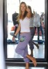 Alessandra Ambrosio spotted changing her clothes at the fitting room while shopping her baby daughter Anja in Los Angeles on October 16th 2009 2