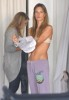 Alessandra Ambrosio spotted changing her clothes at the fitting room while shopping her baby daughter Anja in Los Angeles on October 16th 2009 3