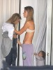 Alessandra Ambrosio spotted changing her clothes at the fitting room while shopping her baby daughter Anja in Los Angeles on October 16th 2009 1