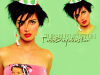 Tuba Buyukustun modeling studio photo shoots funky hair style
