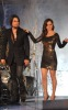Eliza Dushku and Dave Navarro on stage during the Spike TVs 2009 Scream Awards