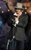 Johnny Depp on stage during the Spike TVs 2009 Scream Awards