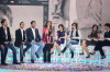 picture of Asala Nasri on stage at the second episode of Najm Al Kaheej TV show on Dubai channel on October 18th 2009