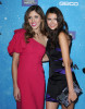 Nina Dobrev and Kayla Ewell arrive at the Spike TVs 2009 Scream Awards held at the Greek Theatre in Los Angeles on October 17th 2009