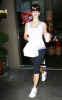 Kim Kardashian seen buying a smoothie after her workout on Robertson in West Hollywood on October 23rd 2009 7
