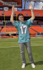Kris Allen picture as he arrives at the Land Shark Stadium prior to his performance at the Miami Dolphins tailgate party on October 23rd 2009 10