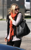 Kristen Bell spotted arriving at a studio in Los Angeles for a photo shoot on the morning of October 22nd 2009 4