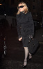Madonna picture as she arrives to her hotel in London England on October 21st 2009 1