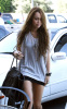 Miley Cyrus spotted leaving City Wok Chinese restaurant in Studio City on October 22nd 2009 6