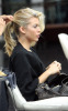 AnnaLynne McCord spotted getting new hair highlights at a beauty Salon in Los Angeles on October 23rd 2009 5