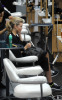 AnnaLynne McCord spotted getting new hair highlights at a beauty Salon in Los Angeles on October 23rd 2009 1