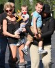 Britney Spears seen with her sons Jayden and Sean Federline to see Astroboy at a movie theater on October 21st 2009 in Calabasas 1