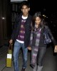 Freida Pinto and Dev Patel spotted walking hand in hand through London on October 20th 2009 3
