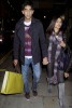 Freida Pinto and Dev Patel spotted walking hand in hand through London on October 20th 2009 4