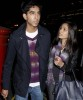 Freida Pinto and Dev Patel spotted walking hand in hand through London on October 20th 2009 2