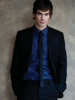 Ian Somerhalder dekstop wallpaper from a Dolce and Gabbana shirt and Pudel skinny jeans phot shoot in the November 2009 issue of August Man magazine 6