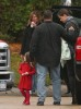 Suri Cruise and her mom Katie Holmes on the set of Toms new movie Wichita on October 24th 2009 in Woburn 2