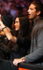 Ashton Kutcher and Demi Moore spotted at the Machida vs Shogun UFC fight at Staples Center in Los Angeles on October 24th 2009 4